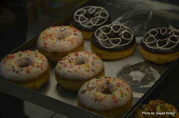 doughnuts at baba bakers