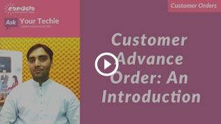 Customer order management in retail