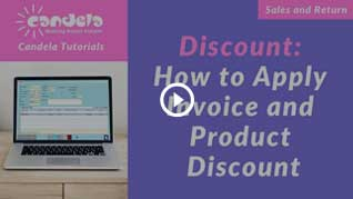 Sales promotion: How-to-apply-invoice-and-product-discount_